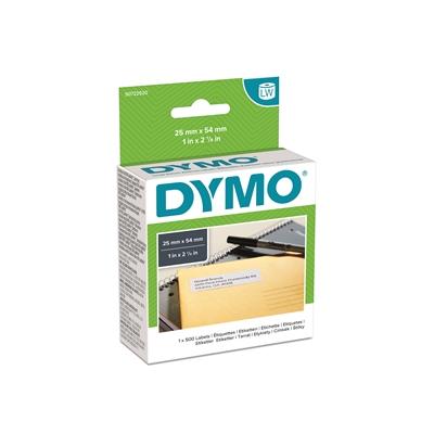 Tarra Dymo LW osoite 54x25mm/500 pysyvä liima