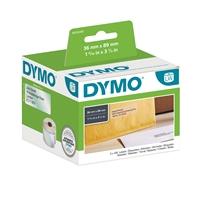 Tarra Dymo LW 89x36mm osoite/260 muovi pysyvä liima