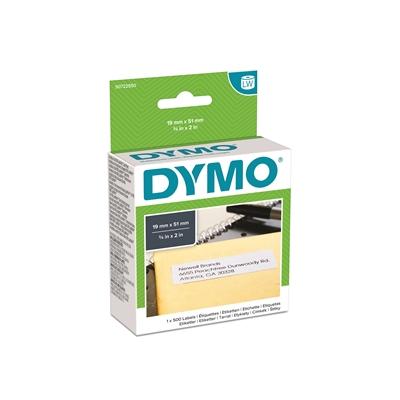 Tarra Dymo LW 51x19mm yleistarra/500 irrotettava