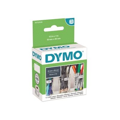 Tarra Dymo LW 25x13mm yleis/1000 2 tarraa rinnan