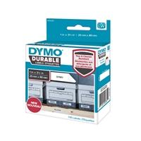 Tarra Dymo LW 25x89mm muovi/ 100 pysyvä liima - repeämätön ja kestää kuumuutta kosteutta liuottimia