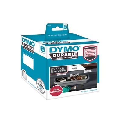 Tarra Dymo LW 59x102mm muovi/ 50 pysyvä liima