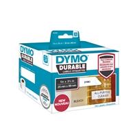 Tarra Dymo LW 25x89mm 1933081 muovi /700 tarran rll - repeämätön kestotarra pysyvällä liimalla
