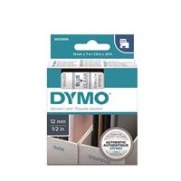Tarrakasetti Dymo D1 12mm x 7m kirkas/sininen
