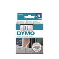 Tarrakasetti Dymo D1 45014 12mm valkoinen/sininen