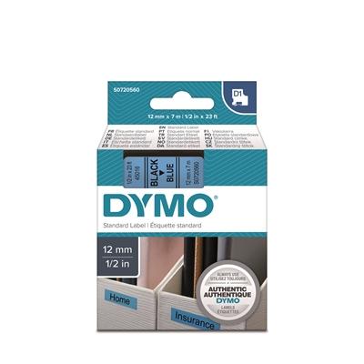 Tarrakasetti Dymo D1 45016 12mm sininen/musta