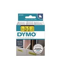Tarrakasetti Dymo D1 45018 12mm keltainen/musta