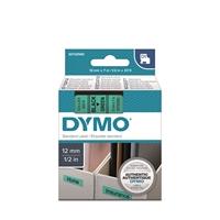 Tarrakasetti Dymo D1 45019 12mm vihreä/musta
