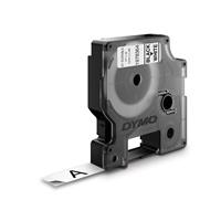 Tarrakasetti Dymo D1 kestotarra 12mm valkoinen/musta