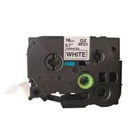 Tarrakasetti Q-Connect TZe241 18mm val/musta - vaihtoehtoinen tuote Brother TZe-tarrakasetille