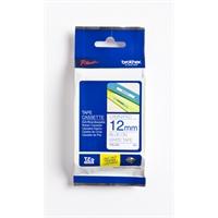 Tarrakasetti Brother TZe233 12mm valkoinen/sininen