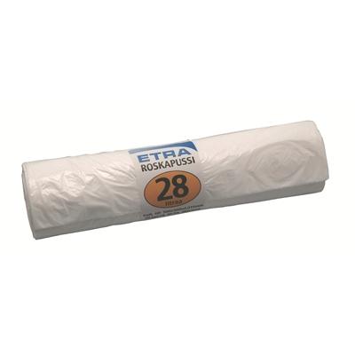 Jätepussi 28 l valkoinen/50