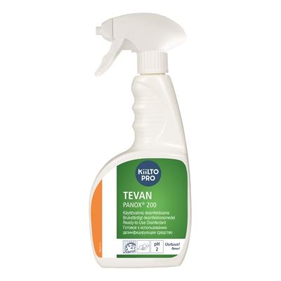 Desinfektioaine Kiilto TEVAN Panox 200 - käyttövalmis, myös keittiön pinnoille ja välineille