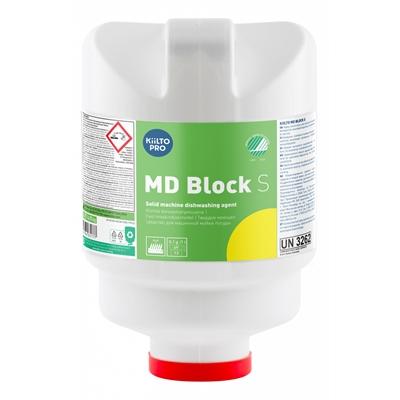 Konetiskiaine Kiilto Pro MD Block S 5kg - ympäristöystävällinen pesuainetiiviste ammattikäyttöön