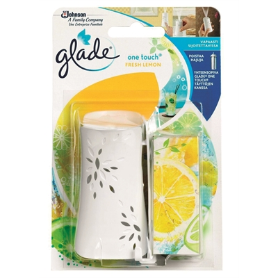 Ilmanraikastin Glade One Touch Sitruuna pidikkeessä 10ml