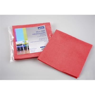 Siivousliina Prima Micro 3000 37x40cm punainen