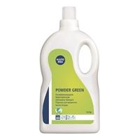 Konetiskijauhe Kiilto Powder Green 1.6 kg - ympäristöystävällinen, eikä muodosta saostumia