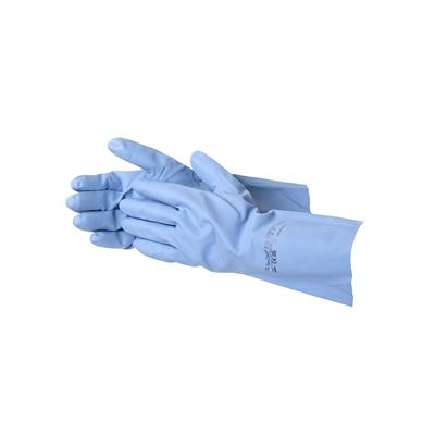 Suojakäsine Ansell 37-520 VersaTouch M - uudelleenkäytettävä nitriilikäsine elintarviketeollisuuteen