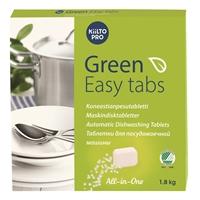 Konetiskitabletti Kiilto Green Easy Tabs/100