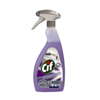 Puhdistusaine Cif Professional 2in1 desinfioiva 750 ml - hajusteeton heti käyttövalmis pH 10.5