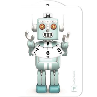 Parkkikiekko 002 Robotti