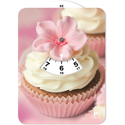 Parkkikiekko 045 Cupcake