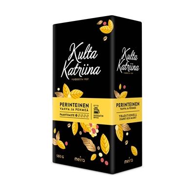 Kahvi Kulta Katriina SJ 500 g - suomalaisen kahvikulttuurin klassikko jo vuodesta 1937