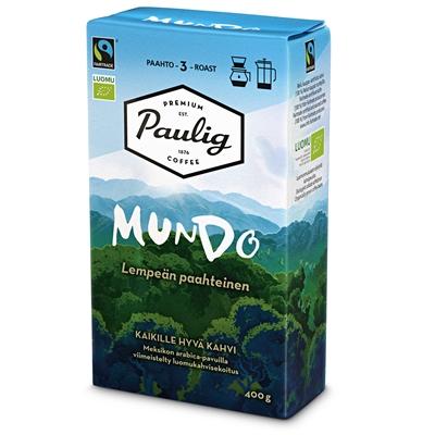 Kahvi Paulig Mundo luomu HJ Reilu kauppa 400g