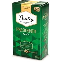 Kahvi Presidentti hienojauhatus 500g - vaaleapaahtoinen ja keskitäyteläinen