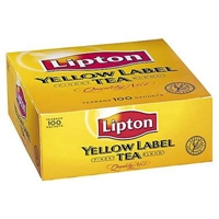 Tee Lipton Yellow Label pussi/100 kpl ltk
