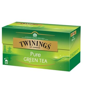 Tee Twinings Pure Green pussi/25 kpl ltk