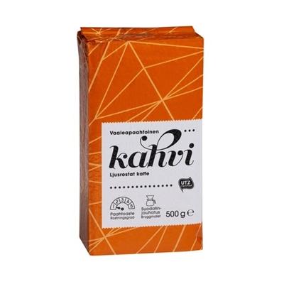 Kahvi Menu puolikarkea jauhatus 500g - vaaleapaahtoinen UTZ-sertifioitu kahvi
