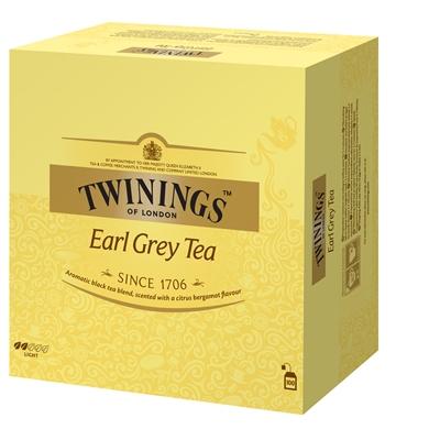 Tee Twinings Earl Grey /100 pss ltk - hienostunut bergamottiarominen tee
