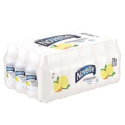 Kivennäisvesi Novelle Citronelle 0,33L /24 kenno (pantti ei sis) - matalahiilihappoinen ja suolaton