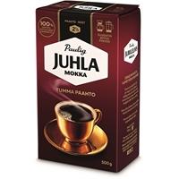 Kahvi Juhla Mokka Tumma Paahto hienojauhatus 500 g - täyteläinen, paahteinen, viipyilevä maku