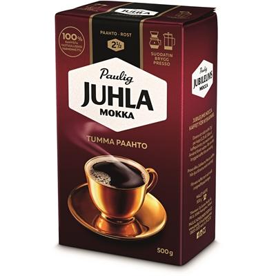 Kahvi Juhla Mokka Tumma Paahto hienojauhatus 500 g