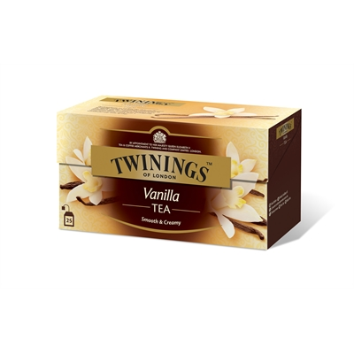 Tee Twinings Vanilja /25