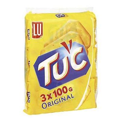 Suolakeksi LU Tuc/3X100g laktoositon