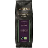 Kahvi Löfbergs Pitch Black Espresso luomu RK papu 500g