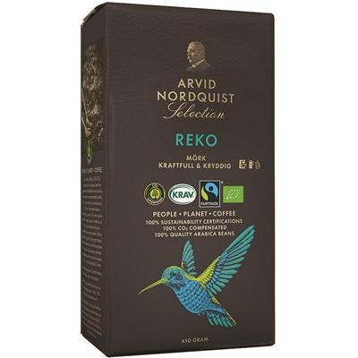 Kahvi Arvid Selection Reko luomu Reilu kauppa 450 g - mantelinen tuoksu, maussa häivähdys lakritsia