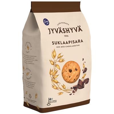 Keksi Fazer Jyväshyvä suklaapisara 350 g