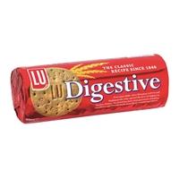 Keksi LU Digestive Classic 400g laktoositon - klassinen täysjyväkeksi, sopii myös leivontaan