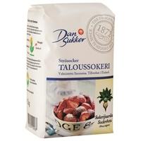 Taloussokeri Dansukker 1kg - Suomessa tehty suomalaisista sokerijuurikkaista