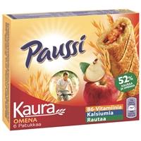 Välipalapatukka Paussi kaura-omena 200 g /6 kpl pkt - aidon kaurapaistoksen maku ja vitamiineja