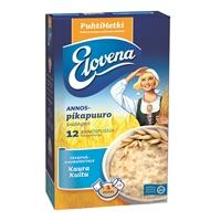 Annospuuro Elovena Kaura-Kuitu 40g /12 pss - lisää vain kiehuva vesi, minuutissa valmis!
