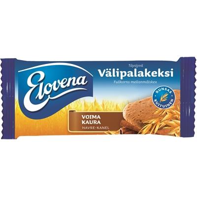 Välipalakeksi Elovena voimakaura 30g/10