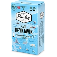 Kahvi Paulig Café Reykjavik SJ 475 g UTZ-sertifioitu - hedelmäisen makea, vivahdus toffeeta