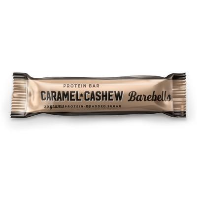 Proteiinipatukka Barebells Caramel-Cashew 55g /12 kpl - paljon proteiinia, ei lisättyä sokeria