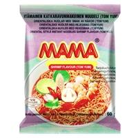 Nuudeli Mama katkarapu 60 g /22 kpl ltk - katkaravunmakuinen nuudeli, nopeasti valmis