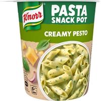 Snack Pot Knorr Creamy Pesto 68 g /8 kpl ltk - herkullinen pestopasta, lisää vain vesi, valmis 5 min